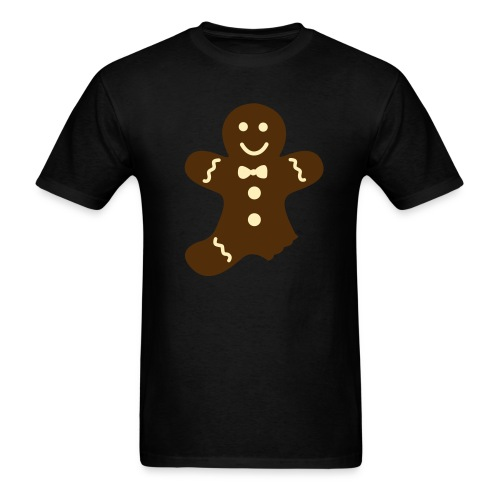 gingerbread man 2 clr - Men's T-Shirt