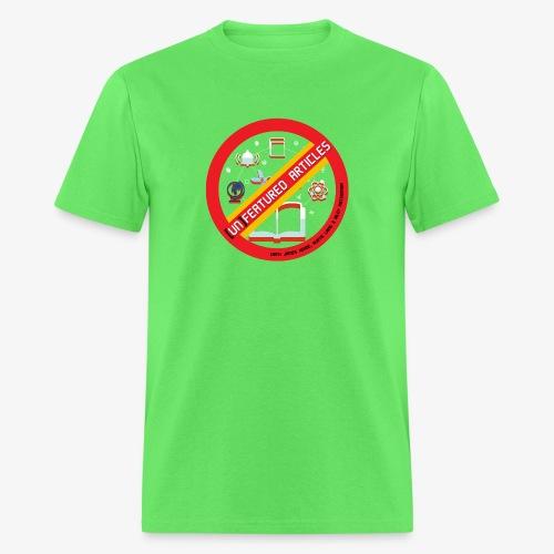 unFeatured Articles Logo - Men's T-Shirt