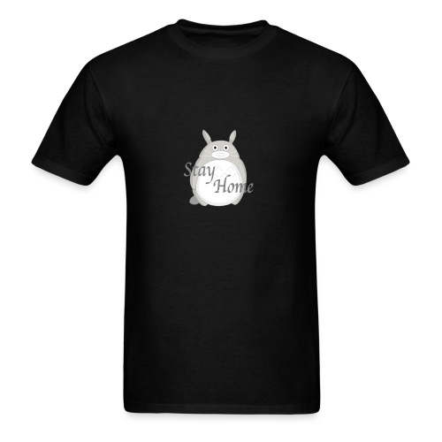 Totoro - Stay Home - T-shirt pour hommes