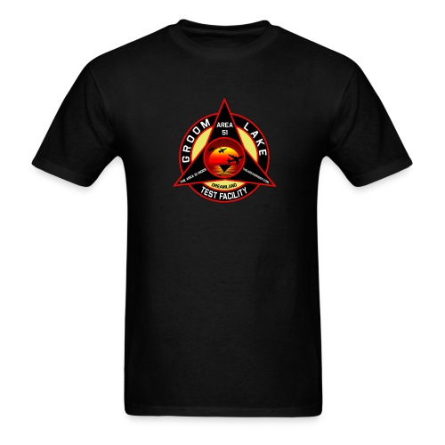 THE AREA 51 RIDER CUSTOM DESIGN - Men's T-Shirt