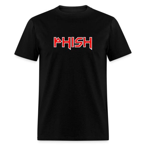 PHISH - Iron Maiden Font 2017 - Men's T-Shirt