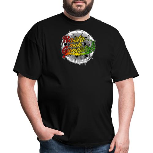 Rasta nuh Gangsta - Men's T-Shirt