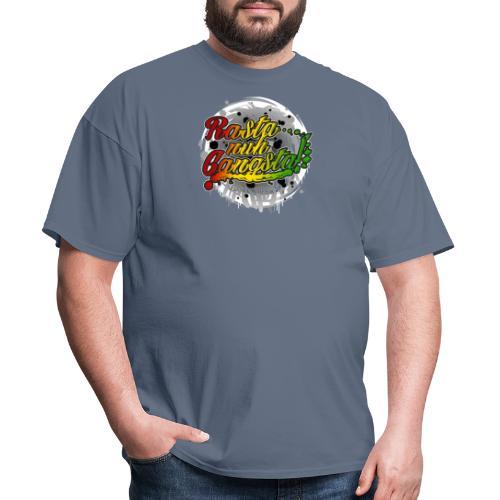 Rasta nuh Gangsta - Men's T-Shirt