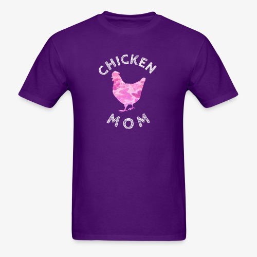 Chicken Mom Shirt Farm Gift - Men's T-Shirt