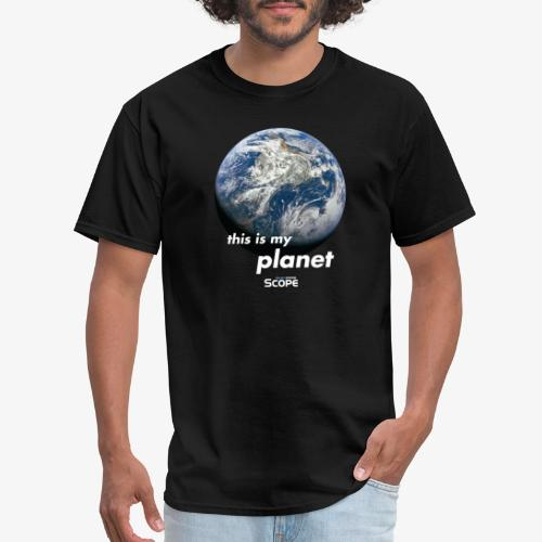 Solar System Scope : This is my Planet - Men's T-Shirt