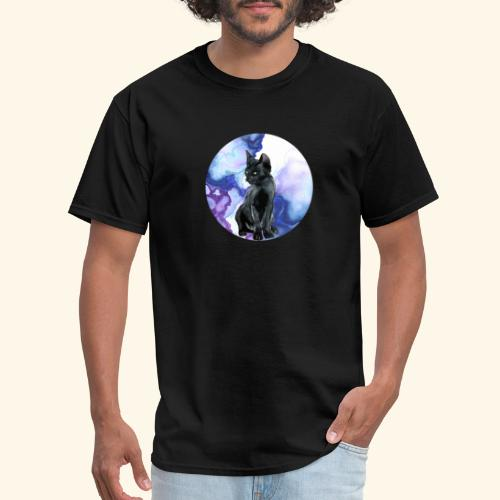 world of cats Watercolor Design - Men's T-Shirt