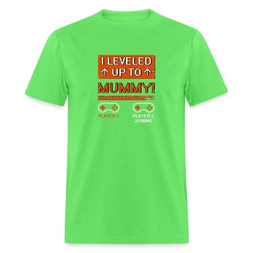 I Leveled Up To Mummy - Men's T-Shirt