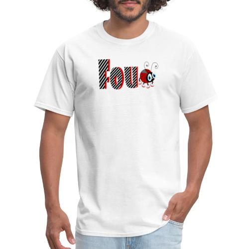 4nd Year Family Ladybug T-Shirts Gifts Daughter - Men's T-Shirt