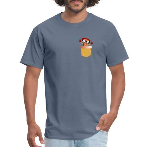 Pizza Lover pocket - Men's T-Shirt