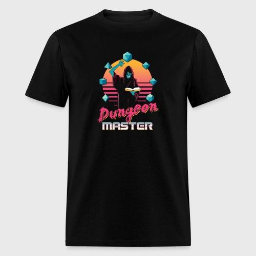 dungeon master outrun neon fantasy gift shirt - Men's T-Shirt
