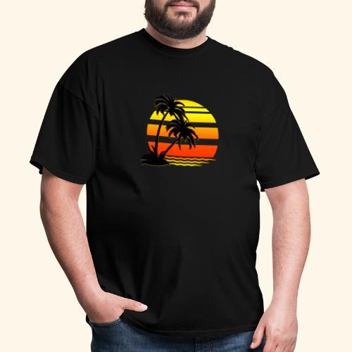 Summer Surfer California Sunset - Men's T-Shirt