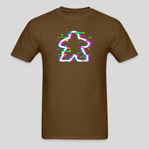 Glitched Meeple - Men's T-Shirt