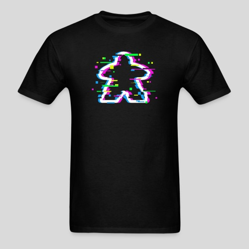 Glitched Meeple - Men's T-Shirt