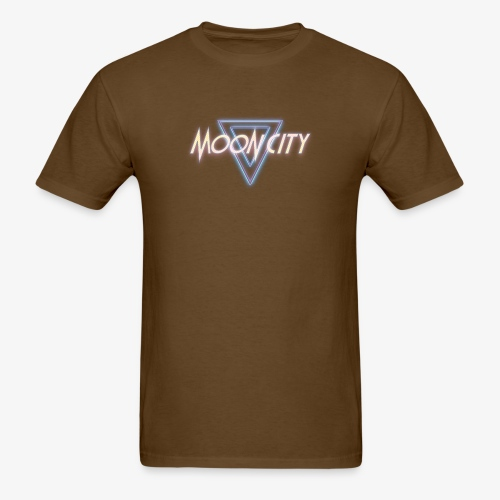 Moon City Logo - Men's T-Shirt