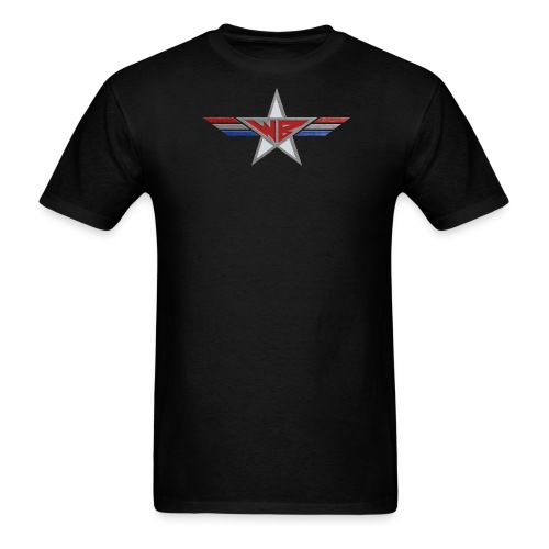 willboski logo metal png - Men's T-Shirt