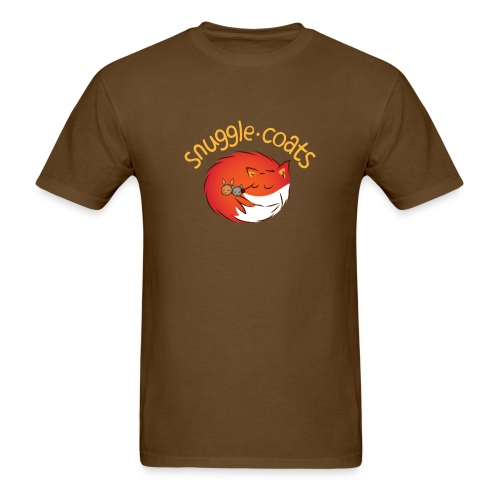 snugglecoats light png - Men's T-Shirt