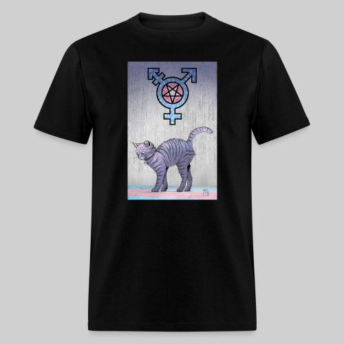 Trans Satanic Cat - Men's T-Shirt