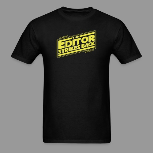 The Editor Strikes Back - Men's T-Shirt