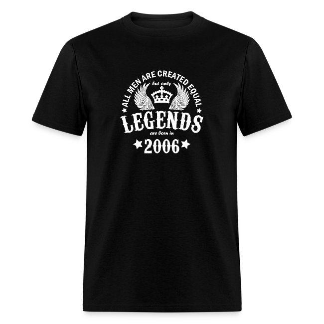 Legends are Born in 2006