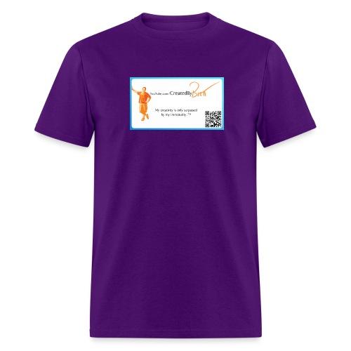 YouTube CreatedByBrett - Men's T-Shirt