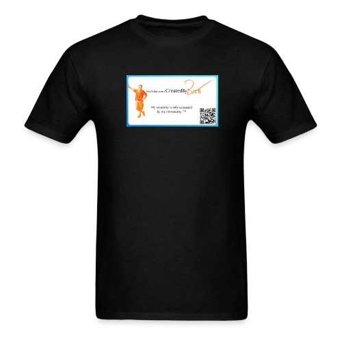 YouTube CreatedByBrett - Men's T-Shirt