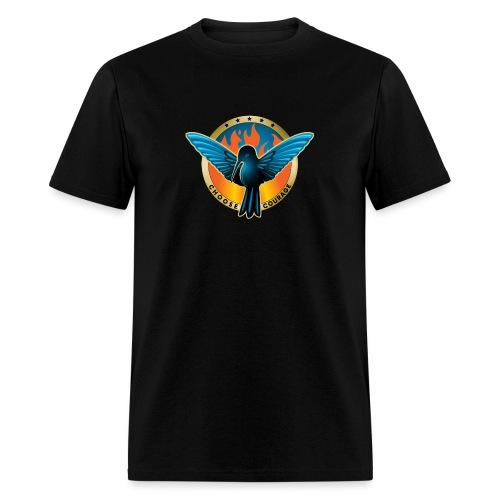 Choose Courage - Fireblue Rebels - Men's T-Shirt