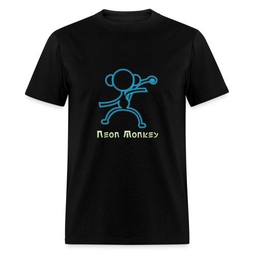 outline monkey png - Men's T-Shirt