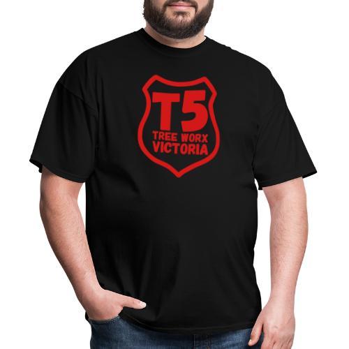 T5 tree worx shield - Men's T-Shirt