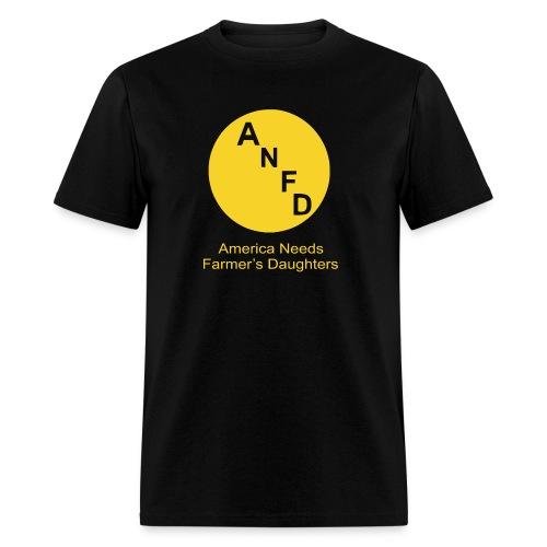 anfd png2 - Men's T-Shirt