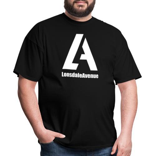 Lonsdale Avenue Logo White Text - Men's T-Shirt