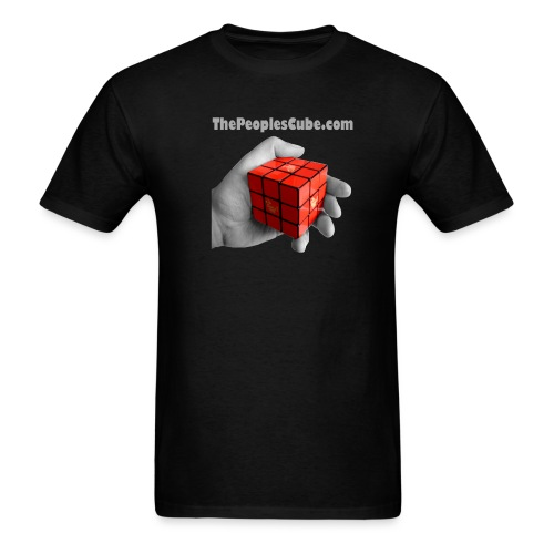 Cube in hand - Men's T-Shirt
