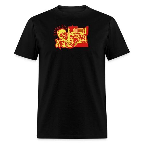golden city - Men's T-Shirt