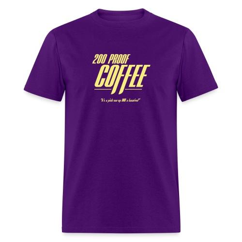 200 Proof Coffee - Men's T-Shirt