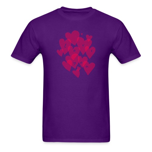 love you - Men's T-Shirt