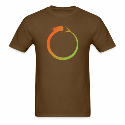 Circle Swimmer - Men's T-Shirt