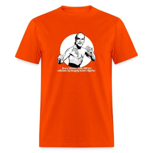 schneier6 martial white - Men's T-Shirt