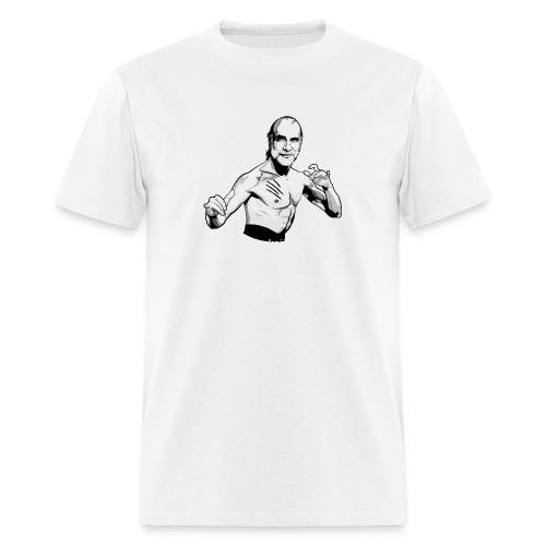 schneier7 martial white - Men's T-Shirt