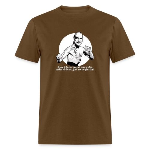 schneier20 martial white - Men's T-Shirt