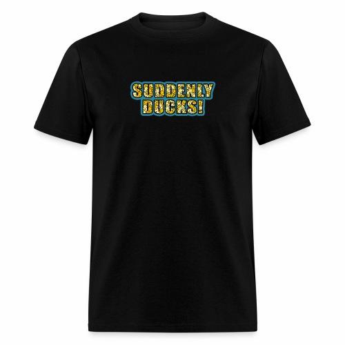 Duck-Filled Text - Men's T-Shirt