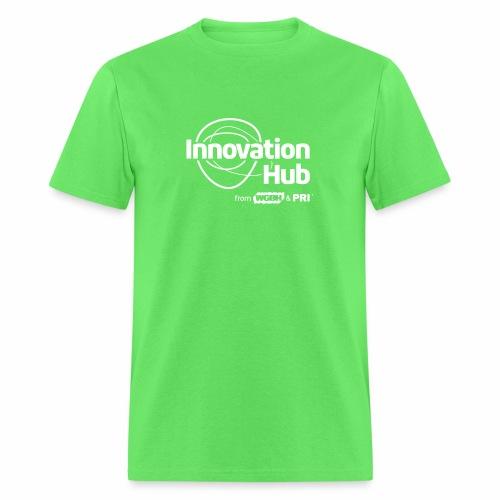 Innovation Hub white logo - Men's T-Shirt
