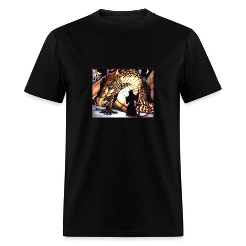 D is for Dragon - Men's T-Shirt