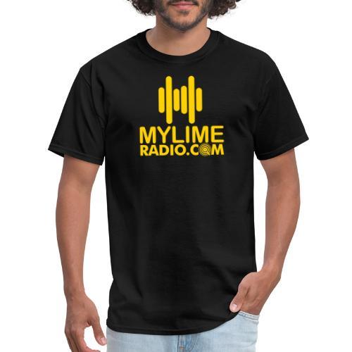MyLimeRadio MAIN LOGO (Solid) - Men's T-Shirt
