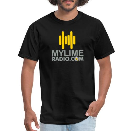 MyLimeRadio Main LOGO (Tri Colour) - Men's T-Shirt