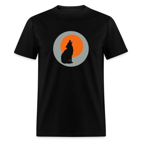 Howling Wolf - Men's T-Shirt