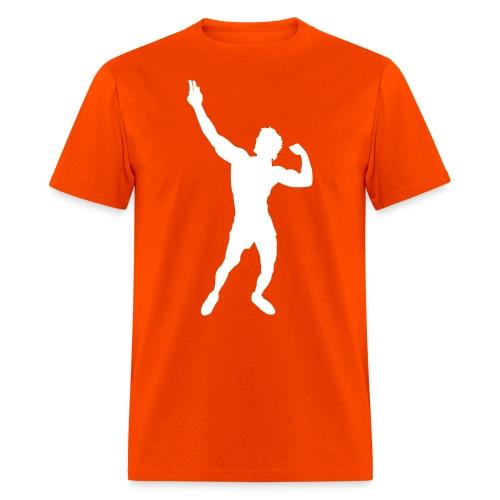 Zyzz Silhouette vector - Men's T-Shirt