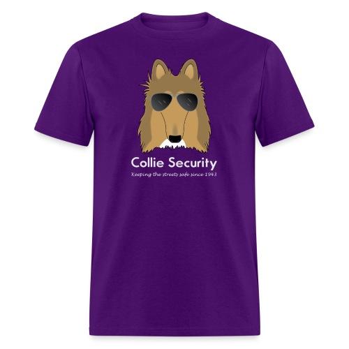 Collie Security - Men's T-Shirt