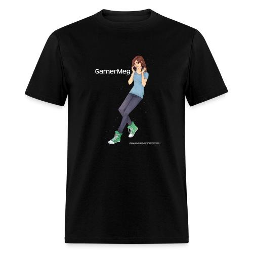 GamerMeg Icon white - Men's T-Shirt