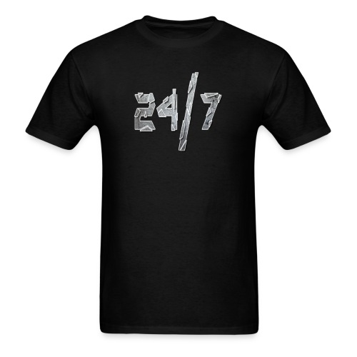 24/7 with ABG - Men's T-Shirt