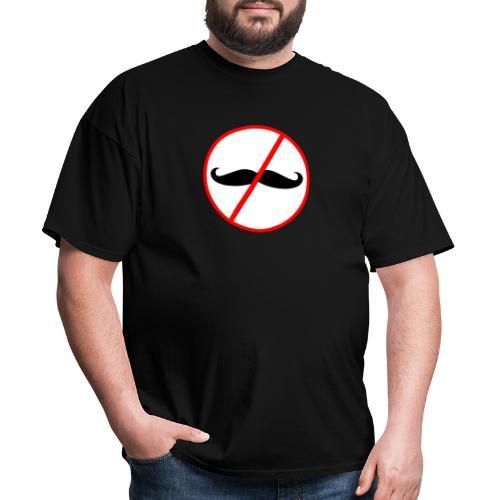 Noshember - No Mo Boo Mustaches for No Shave Novem - Men's T-Shirt