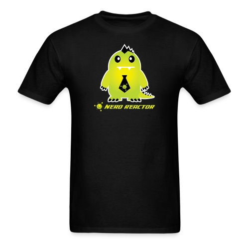 Nerdzilla png - Men's T-Shirt